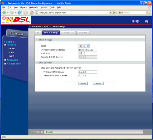 dhcp 300x276 How to configure Zyxel P 600 series with PLDT MyDSL