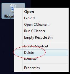 vista recycle bin