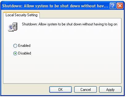 disabled-shutdown