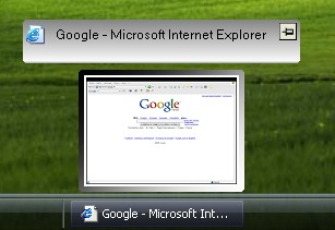 preview How to Get the Vista Taskbar Thumbnail Preview in Windows XP