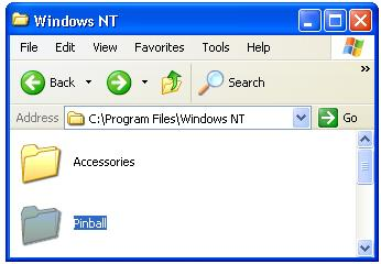windows nt How to Play XP 3D Pinball in Windows Vista