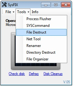 sysfix2 A Simple Tool to Easily Manage and Fix Common System Errors