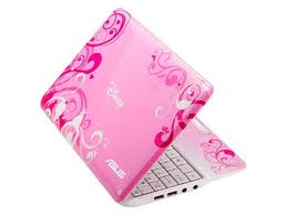 The Tiny Asus EEE Pink Laptop : Among pink laptops, one that stands out