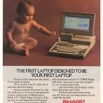 first laptop