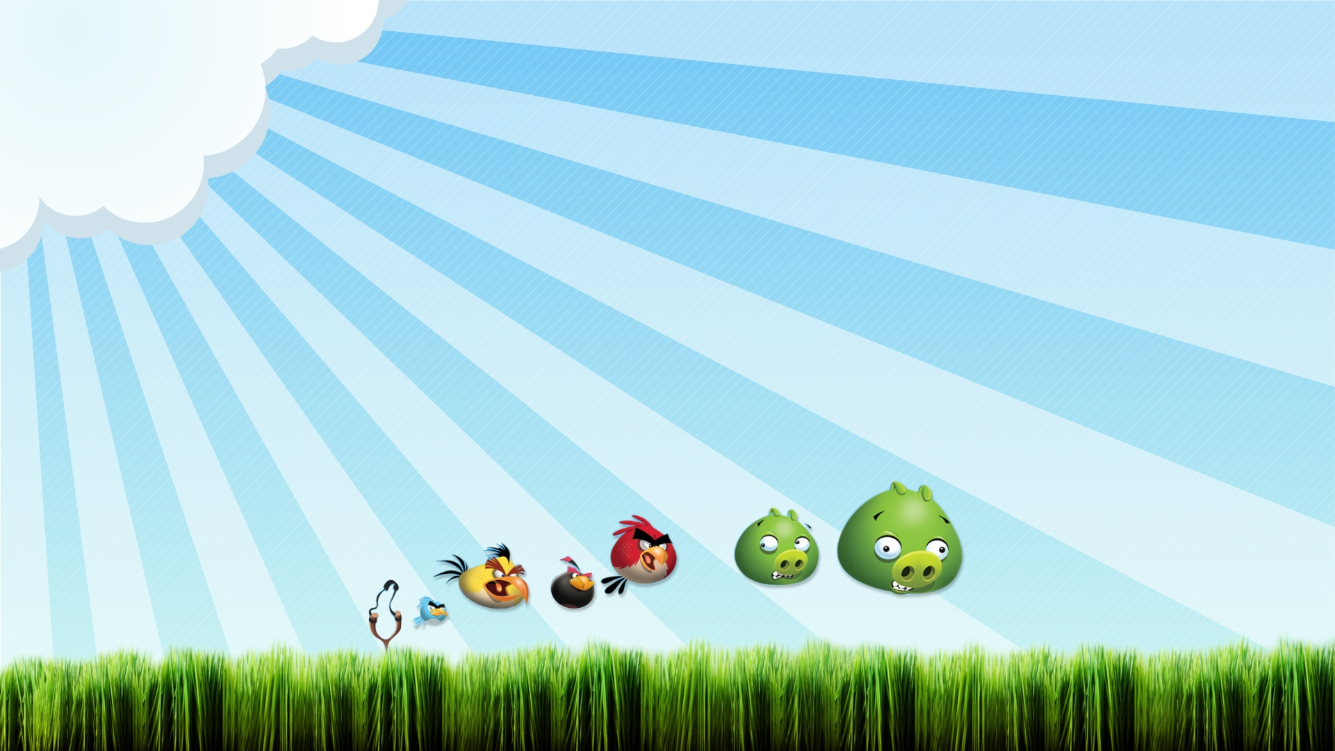 Wallpapers Angry Birds em HD