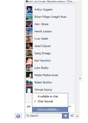 facebook chat 8 Reasons Why Your Facebook Chat is Not Working