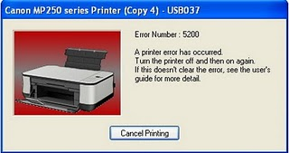 How to fix canon MP258 error 5200 How To Fix Canon MP258 Error 5200