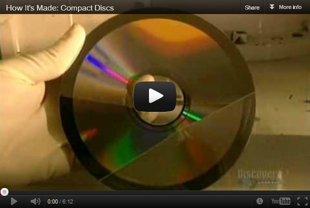 How CD's Are Made