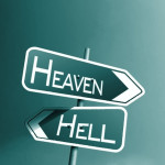 heaven and hell iphone 5 wallpaper