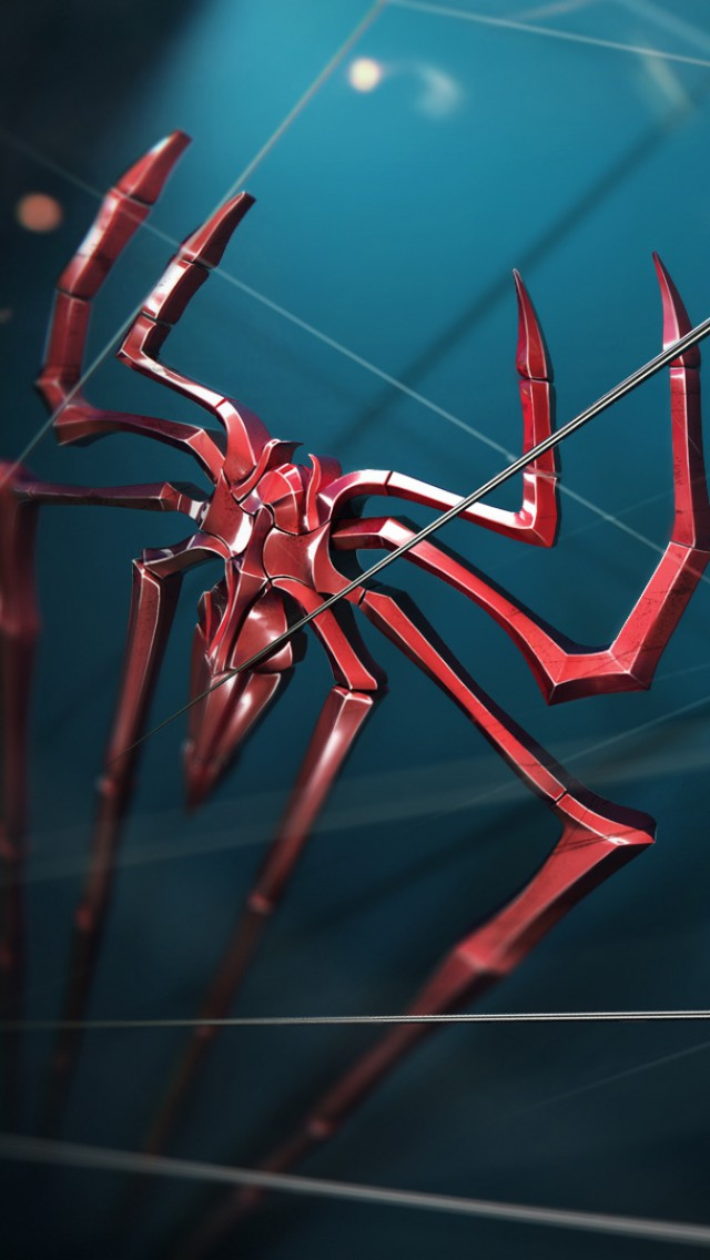 spiderman logo iphone 5 wallpaper