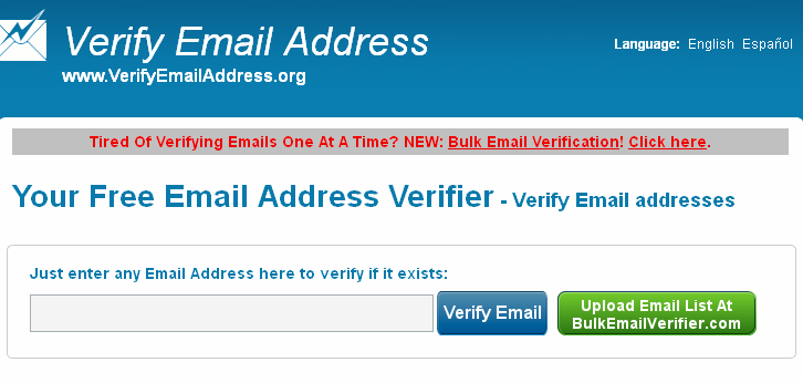 verify email address How to check whether an e mail id is valid or not
