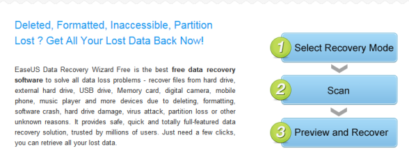 Software for recovering data from damaged hard drive