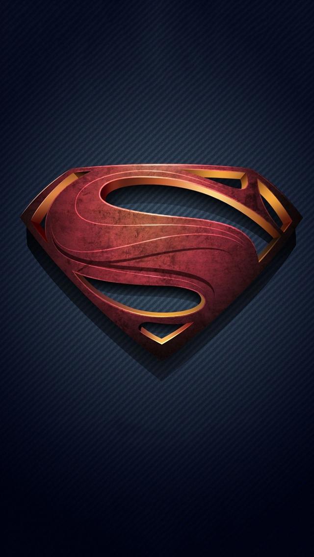 superman logo iphone 5 wallpaper - PCTechNotes :: PC Tips